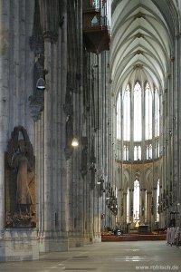 Dom zu Köln, unbestuhlt