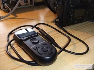 Klinken-Timer mit angestecktem N3-Adapter an der 20D